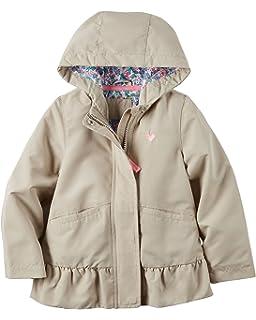 e513355ca Amazon.com  OshKosh B Gosh Baby Girls Lightweight Anorak Jacket ...
