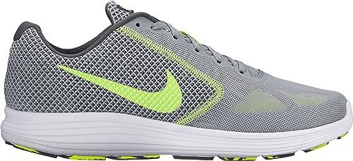 Nike Revolution 3, Chaussures de Sport Homme WhiteMTLC