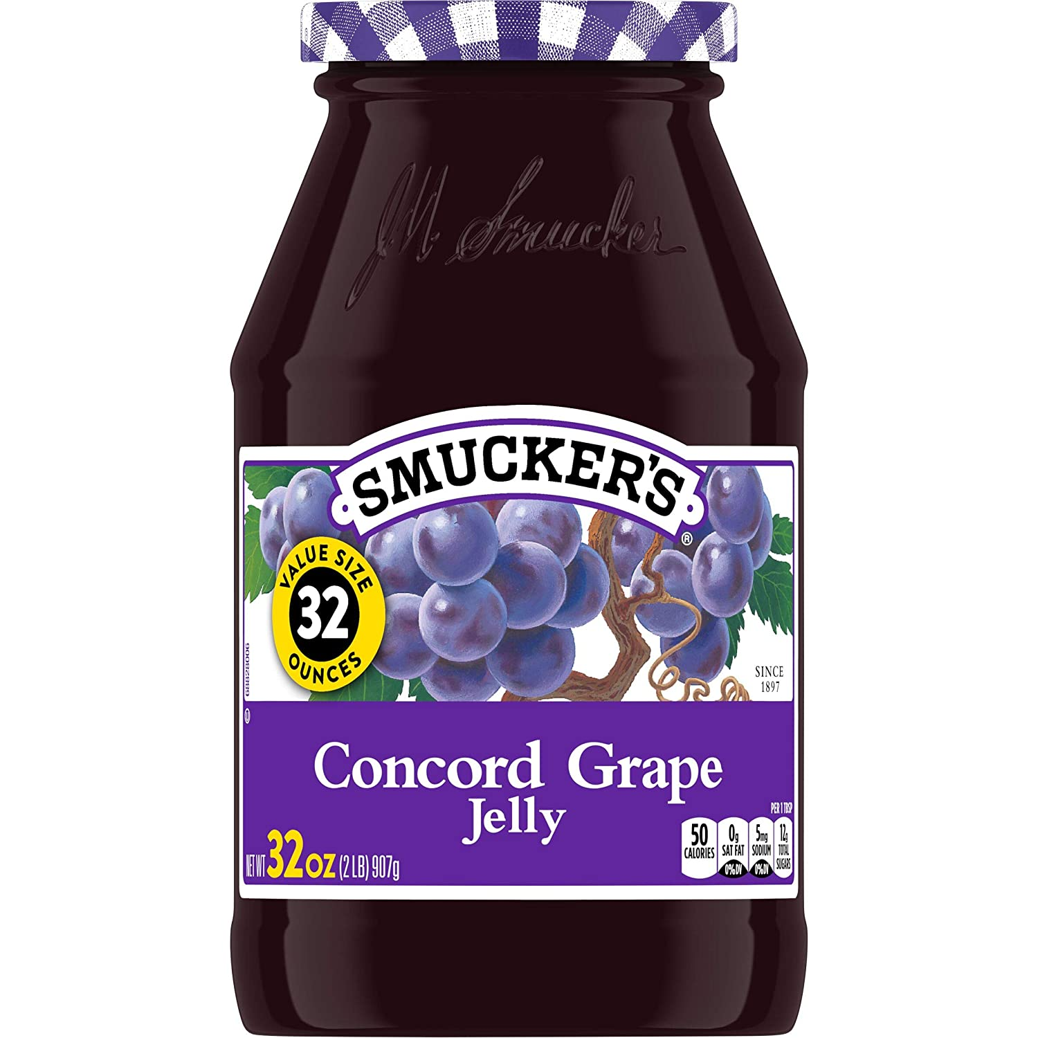Smucker's Concord Grape Jelly, 32 Ounces