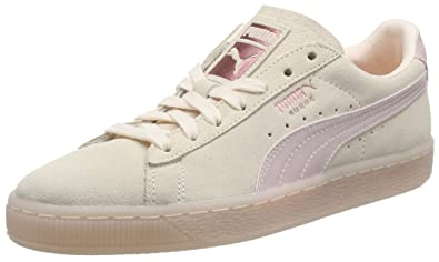 56fe084881b512 PUMA Women s Suede Classic Satin WN s Low-Top Sneakers