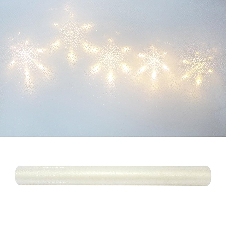 3D PVC Folie Sterneffekt 50 x 300 cm Hologramm Sterne transparent