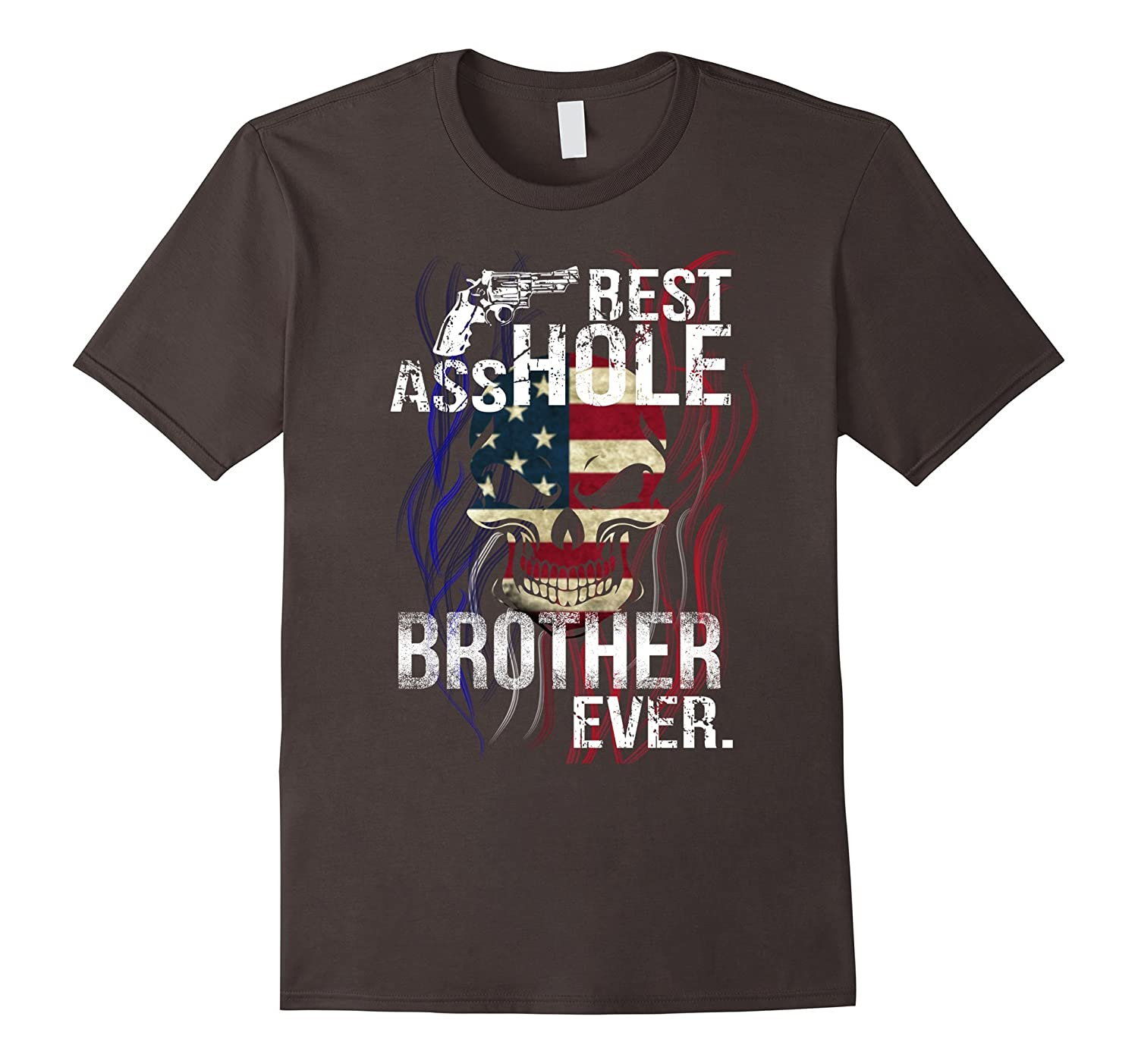 BEST ASSHOLE BROTHER EVER GIFT T-SHIRT HALLOWEEN