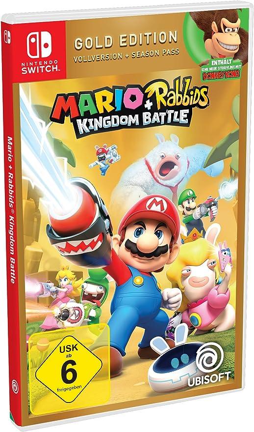Mario & Rabbids Kingdom Battle - Gold Edition - Nintendo Switch ...