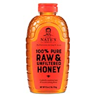 Nature Nates 100% Pure Raw & Unfiltered Honey 32oz.