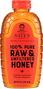 Nature Nate's 100% Pure, Raw & Unfiltered Honey, 32 oz. Squeeze