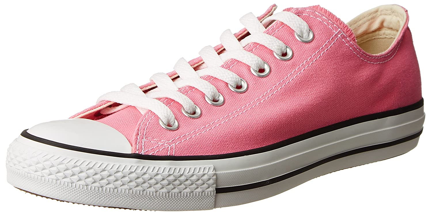 Converse Chuck Taylor All Star Canvas Low Top Sneaker B002W7ZY6E 9.5 US Men/11.5 US Women|Pink