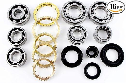 Vital Parts BK326 Fits Honda Civic Del Sol CRX Transmission Rebuild Kit 1.6 1.5 S20 S40 Manual NON VTEC