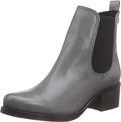 Virus 25735, Botas Chelsea para Mujer, Gris-Grau (Alfa Cinza), 37 EU: Amazon.es: Zapatos y complementos