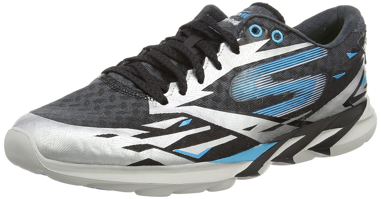 Skechers Go Meb Speed 3 Mens Running Shoes B00N452ES4 13 D(M) US|Black / Blue