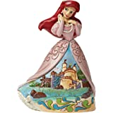 Disney Traditionsitions Figurine Ariel en Robe avec son château