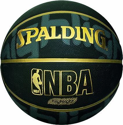 Spalding - Balón de Baloncesto NBA Hihglight, tamaño 7, Color ...