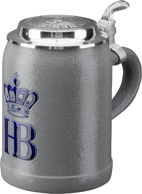 HB Hofbräuhaus München Jarra de Cerveza Alemana Múnich Hofbräuhaus München HB 0,5 litros King Werk KI 1000068