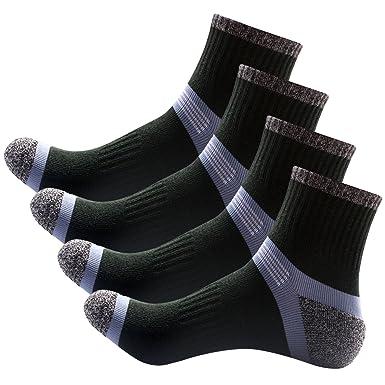 Sasairy Calcetines Hombre Calcetines Deportes Calcetines Trekking Gruesos Protección para Tobillo Ideal para Aire Libre Senderismo