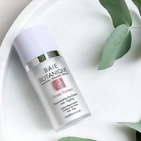 Crema Regenerativa para Ojos 15ml, Células Madre Edelweiss, Ácido Hialurónico - Varios Premios - 100% Natural, 70% Orgánico