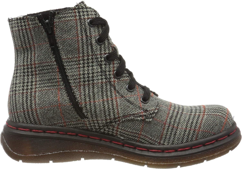 Rieker Damen Y3230 Mode-Stiefel Grau Rost Schwarz 91