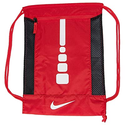50%OFF NIKE Hoops Elite Gym Sack Back Pack Drawstring Bag Gear Tote ( University 2f577898f35e7
