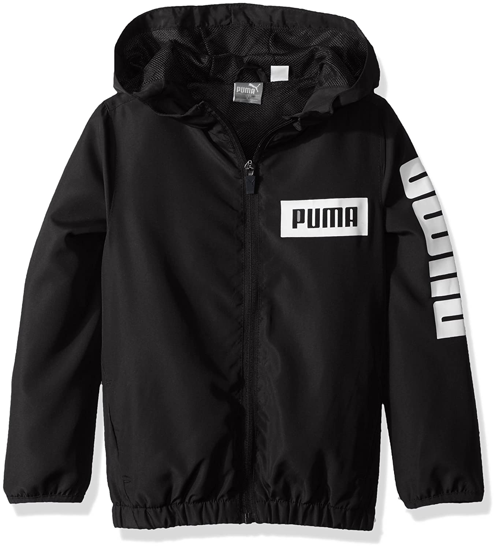 ed25d802230f Amazon.com  PUMA Little Boys  Windbreaker  Clothing