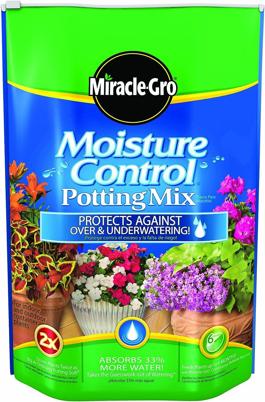Miracle-Gro Moisture Control Potting Mix, 16-Quart