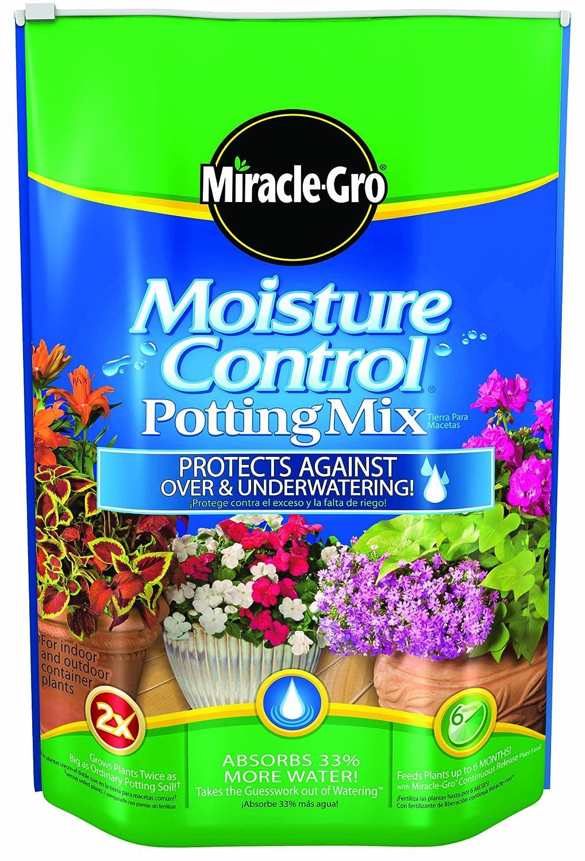 Amazon.com : Miracle-Gro Moisture Control Potting Mix, 16-Quart : Soil And Soil Amendments : Garden & Outdoor
