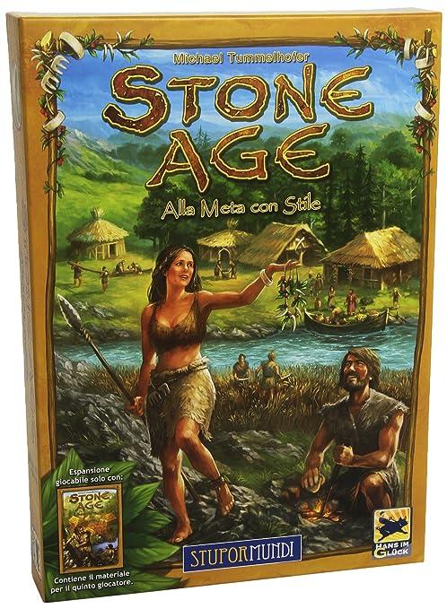 3 opinioni per Giochi Uniti- Stone Age. Alla Meta con Stile [Espansione per Stone Age]