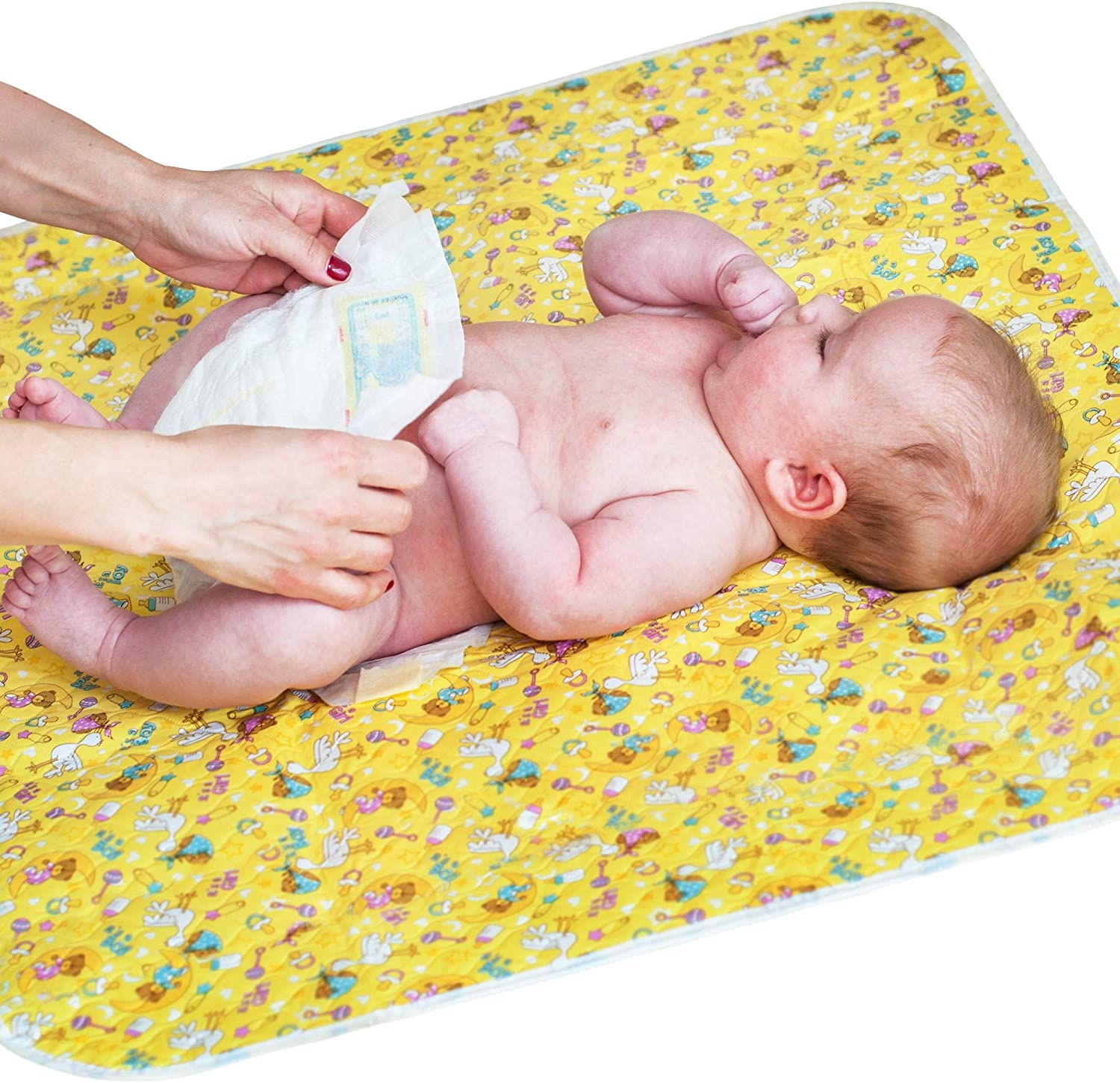 1pc Changing Pad Waterproof Diaper Changing Mat Non-Slip Waterproof and Washable for Baby Infant