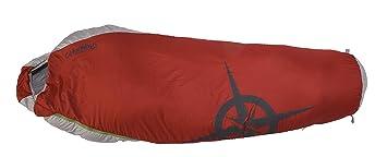Columbus Saco de Dormir Etna 60 Rojo/Gris