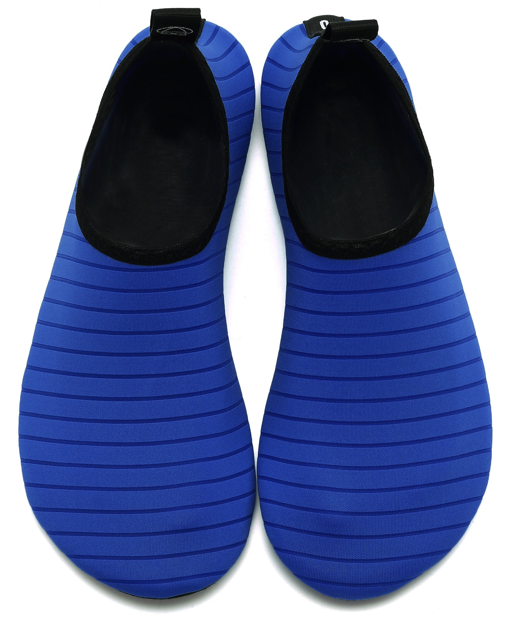 GUPYING Womens and Mens Summer Outdoor Water Shoes Aqua Socks for Beach Swim Surf Yoga Exercise (M(W:7.5-8.5,M:6.5-7.5), Blue) 38-39 by GUPYING (Image #4)
