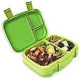 Bentgo Fresh - Auslaufsichere Lunchbox   Bento Box mit 4 Unterteilungen, Grün