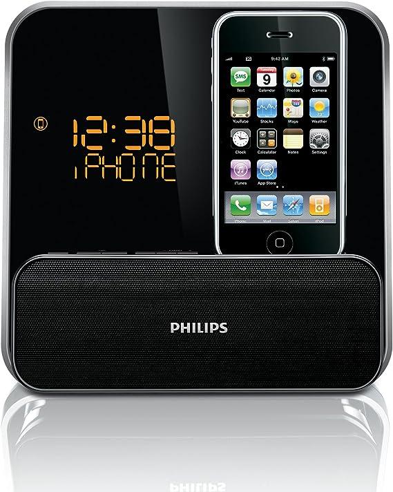 Philips DC315 Station d'accueil pour iPod iPhone Noir