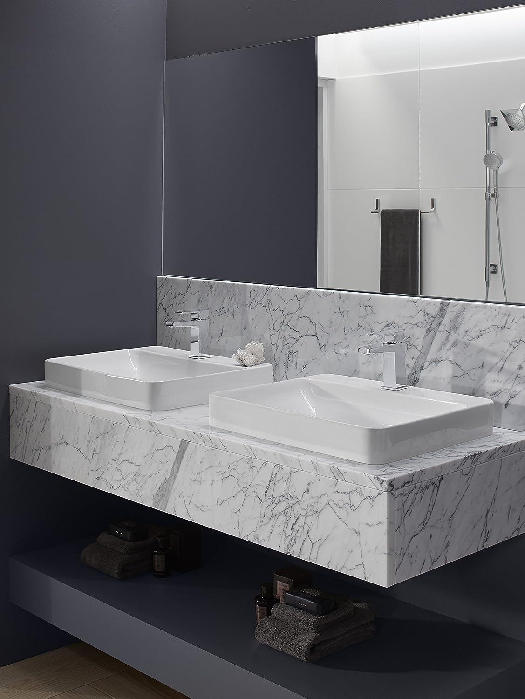 Merveilleux Kohler K 2660 1 0 Vox Rectangle Vessel With Faucet Deck, White, Vessel Sinks    Amazon Canada