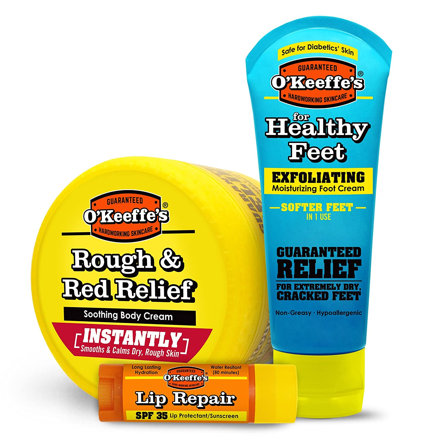 O'Keeffe's K0980049 Variety Lotion, Cream, Lip Balm, Various O' Keeffe' s
