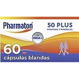 Pharmaton - Pharmaton 50+, 60 cápsulas