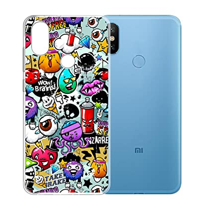 Amazon com: Xiaomi Redmi S2 Case,JIENI Transparent Cartoon