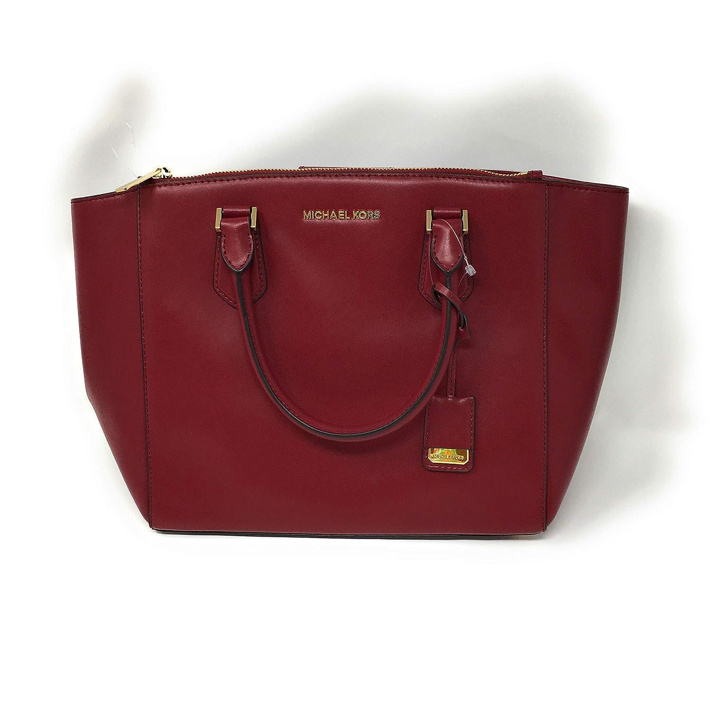 d9bfdeedbe8 Amazon.com  Michael Kors Carolyn Large Tote Soft Leather Handbag Mulberry   Shoes
