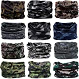 NEXTOUR Neck Gaiter Headwear Headband Magic Scarf Seamless Bandanas Running, Fishing, Hiking, Motorcycle 12 in 1 Multi-Function Women Men