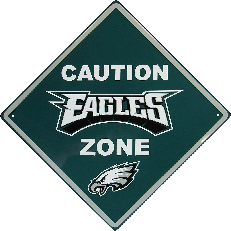 Siskiyou NFL unisex Caution Wall Sign Plaque
