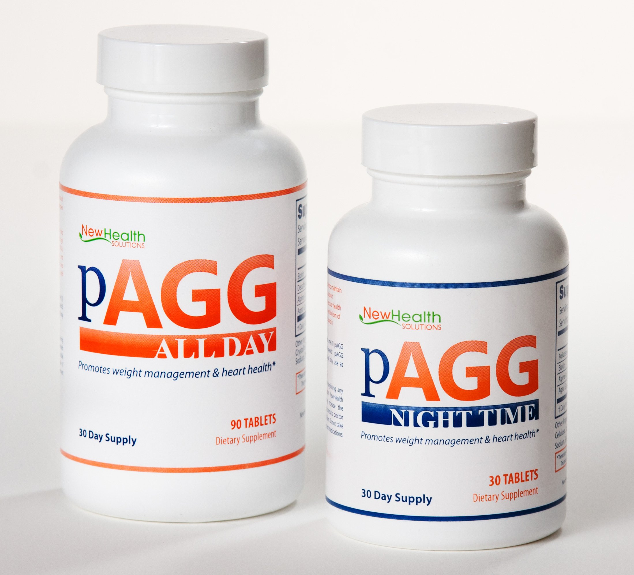 Official PAGG Stack Supplement System - One Month Supply as specified in 4 Hour Body by Tim Ferriss - Money back Guarantee by NewHealth Solutions