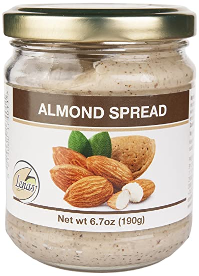 LENA'S GOURMET NUT SPREADS Almond Creme Spread, 6 7 Ounce