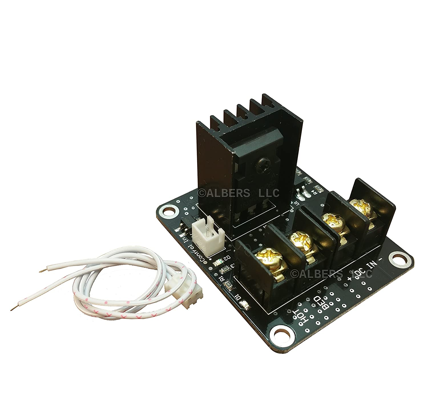 [initeq] MOSFET Board for 3D Printer Heat Bed Controller 210A High Current  for Anet A8 and Wanhao i3 and Others