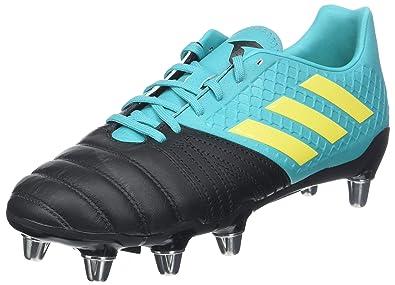 competitive price 07275 788ee adidas Kakari Elite (SG), Chaussures de Rugby Homme, Noir (Negbás
