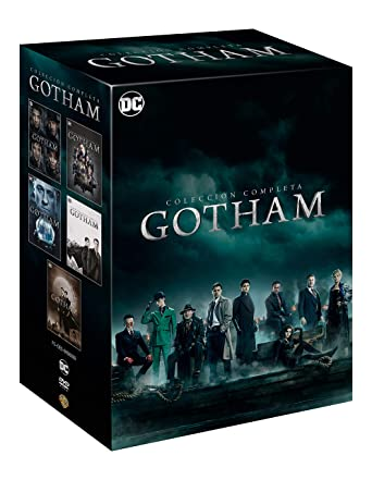 Gotham Colección Completa Temporada 1-5 [DVD]: Amazon.es: Ben ...
