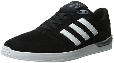 adidas Originals Men's ZX Vulc Lace Up Shoe, Black/White/Power Red,