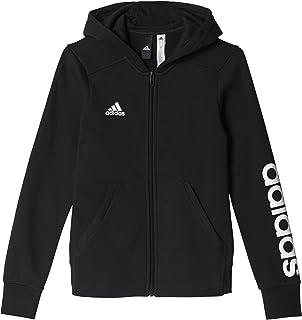 Adidas - MOD. YG Linear FZ HD - Felpa Aperta Davanti, per Bambina CF7238