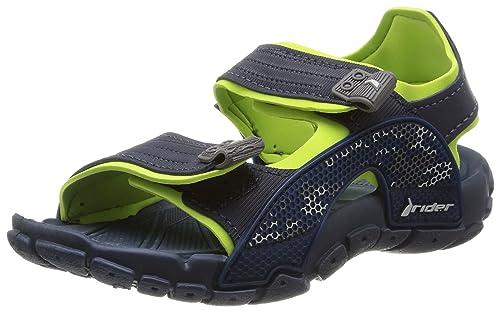 c19b94b2ffe Rider es complementos Tender niños 25 Sandalias y Azul caucho Amazon Verde  VII Zapatos de 26 Deportivas rrZB7Hn