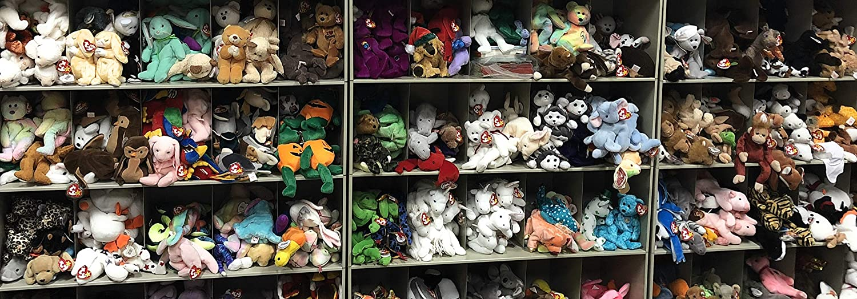 Amazon.com  Ty Original Beanie Babies - Assortment of 5  Toys   Games 821f12298272