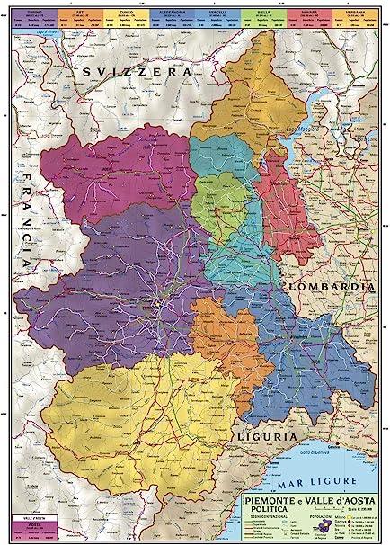 Sicilia Occidentale Cartina Stradale.Spagna Carta Geografica Politica