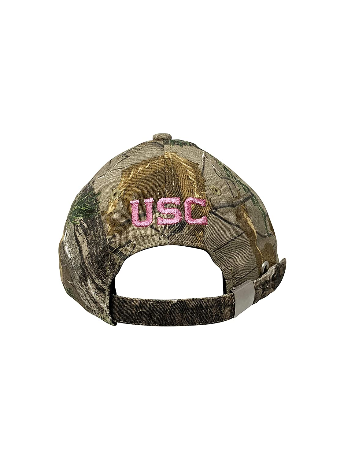 New Era USC Trojans NCAA Womens Metallic Glitter Baseball Caps 9Twenty Low Profile Strapback Cap 950 One Size Adjustable
