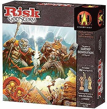 Milton Bradley Hasbro 4098337 Risk GodStorm - Juego de Mesa de ...