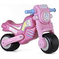 MOLTO- Cross Moto Correpasillo, Color rosa (02020)