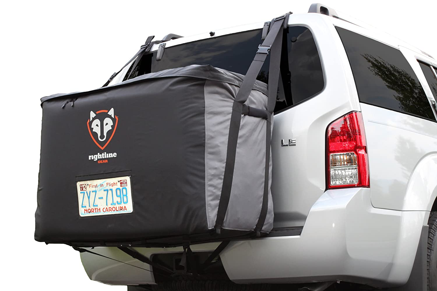 Rightline Gear 100B90 Cargo Saddlebag Rear Mounted Carrier, 13 cubic feet, 100% Waterproof